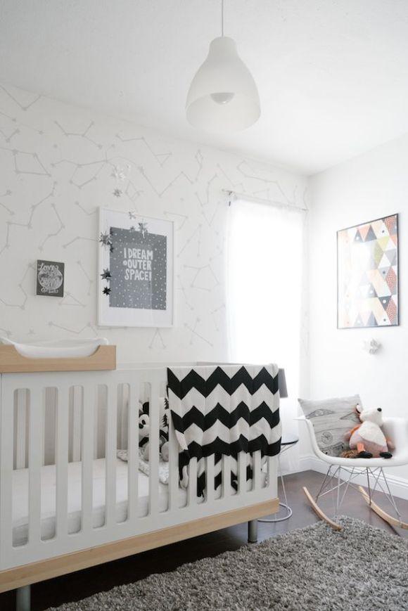 Geometric Nursery Done Right by NurseryDesign.com.au